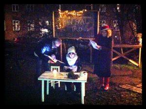 Tåsinge Plads (Østerbro) 10.december: UD LANGS KANTEN