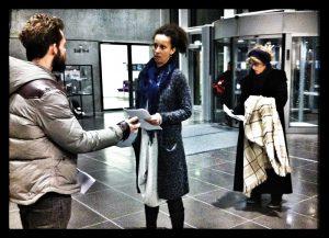 DR-Byen (Amager) 14.december: DE HJEMLØSE